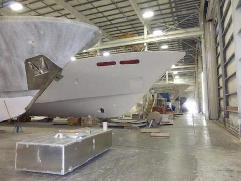 Image for article Westport launches first yacht in new range