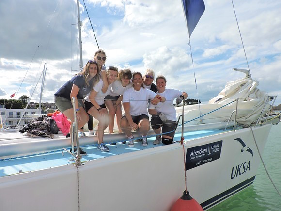 Image for article UKSA launches careers initiative 'Women into Sailing'
