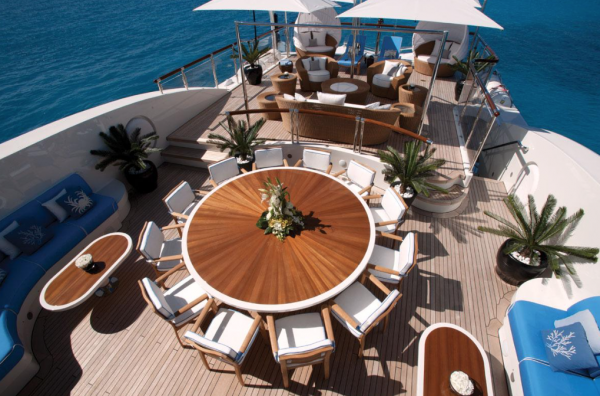 Image for article $5.05 million price reduction on Benetti's 60m 'Swan'