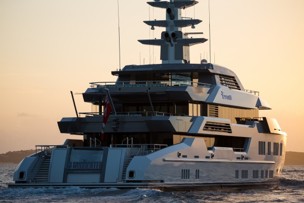 Image for article Lurssen's 66m Ester III listed for sale at €79.5 million