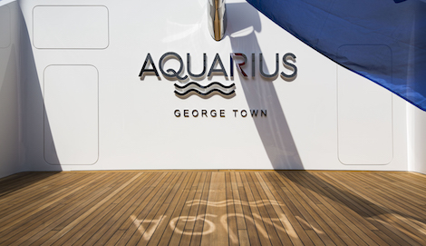 Image for article Feadship launches 92m superyacht 'Aquarius'