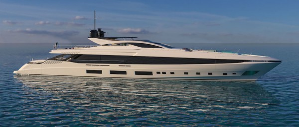 Image for article Overmarine announces sale of new flagship yacht