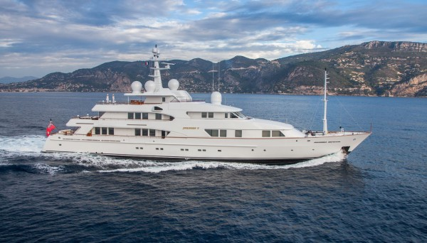 Image for article Yacht & Villa International lists 54.5m 'Faribana V' for sale