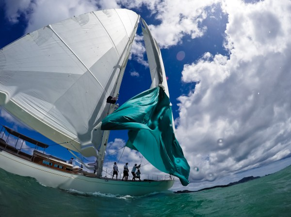 Image for article An adrenaline-fuelled second day of racing at the NZ Millennium Cup