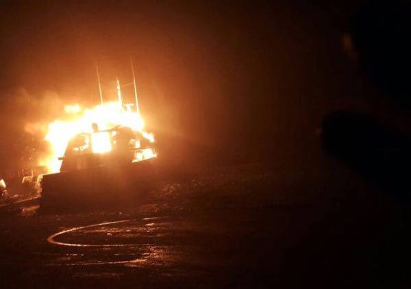 Image for article Marmaris superyacht blaze