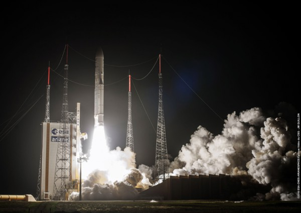 Image for article Satellite launch ushers in new era