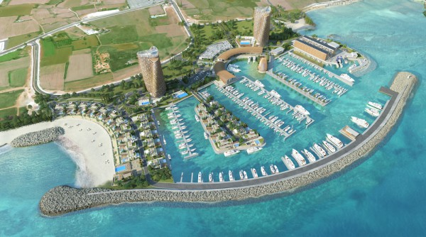 Image for article Work begins on Ayia Napa Marina superyacht development