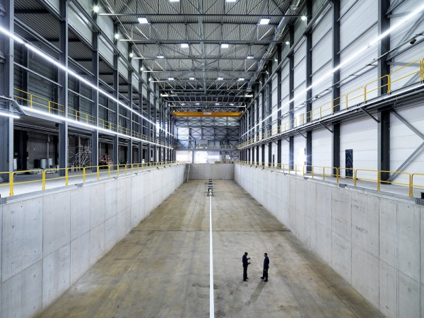Image for article Heesen opens new superyacht construction shed