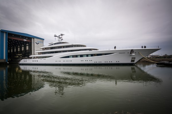 Image for article Feadship launches 96.6m project 'Vertigo'