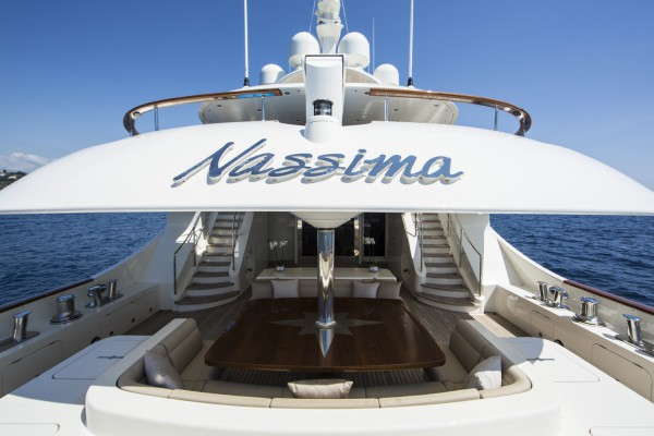 Image for article 49m Nassima listed for sale with Arcon Yachts and Fraser Yachts