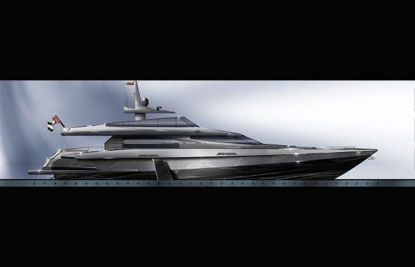 Image for article Barracuda's bid for world's fastest superyacht