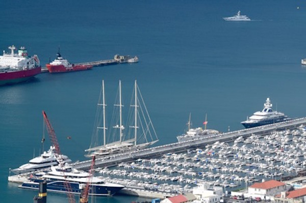 Image for article Gibraltar receives record number of superyachts