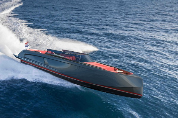Image for article Vanquish Yachts begins construction of two VQ54 tenders