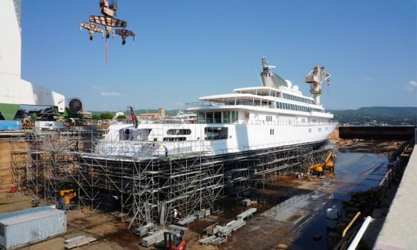 Image for article La Ciotat dry dock agreement in doubt