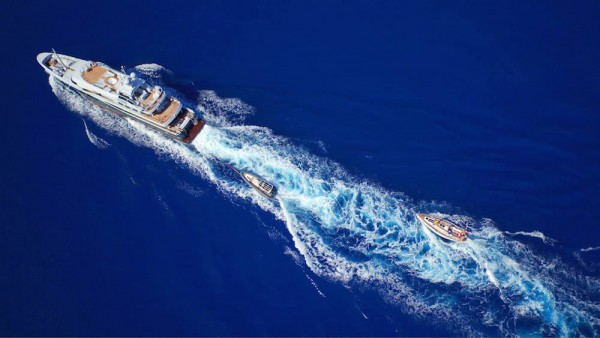 Image for article Superyacht 'Gene Machine' rescues crew stranded mid-Atlantic