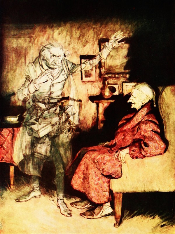 Image for article A Christmas Carol (after Dickens), by Tiny Tim (Thomas)