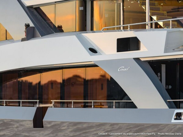 Image for article Couach launches latest 4400 superyacht