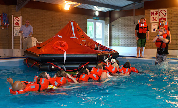 Image for article Changes to Advanced Sea Survival course