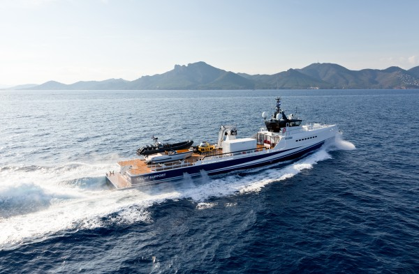 Image for article 55m Damen support vessel 'Fast & Furious' sold