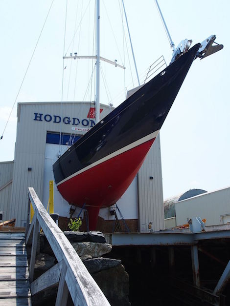 Image for article Hodgdon Yacht Services completes refit of Asolare