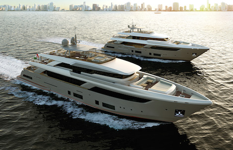 Image for article Ferretti Group reveal the new Navetta 42 in Miami
