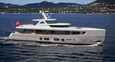 Image for article Mulder shipyard begins construction of 36m superyacht