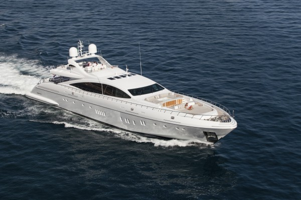 Image for article Mangusta 165 E Moonraker for sale with Moran Yacht & Ship