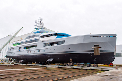 Image for article Abeking & Rasmussen launches 72.5m 'Cloudbreak'