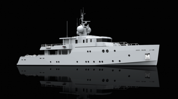 Image for article Tansu Yachts sells 39m project Cutlass