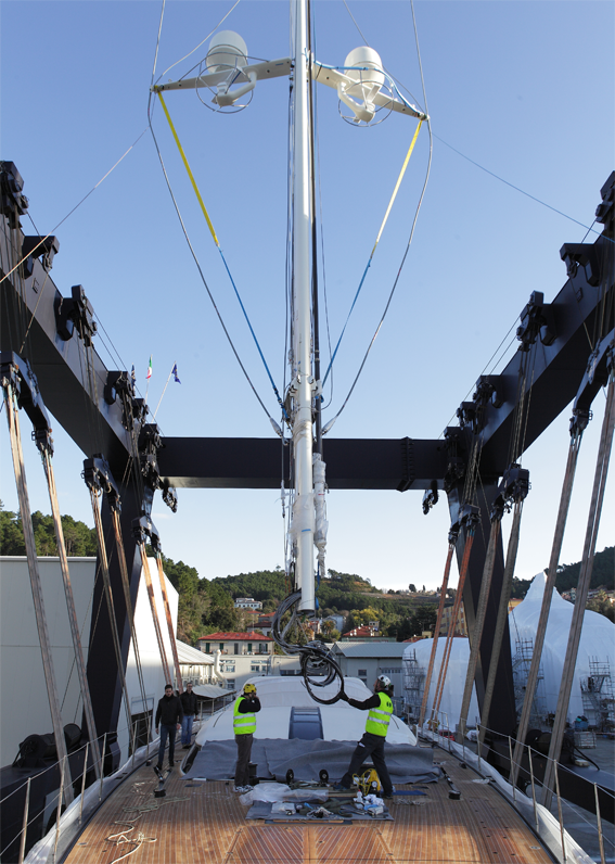 Image for article Perini Navi prepares for 38m C.2130 launch