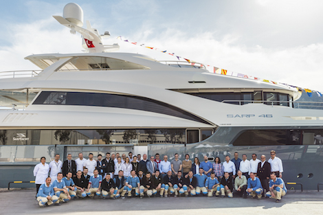 Image for article Sarp Yacht launches 46m superyacht
