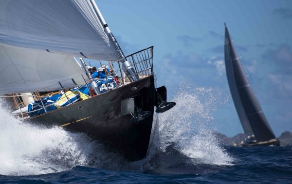 Image for article Racing gets underway in St Barths