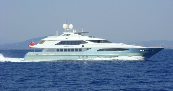 Image for article Heesen's 46m Sweet Doll for sale with Yacht & Villa International