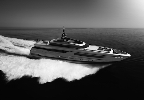 Image for article Imminent launch of 46m Baglietto superyacht