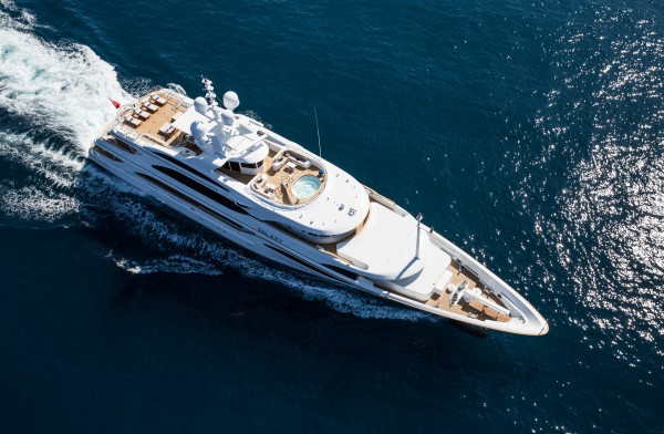 Image for article Benetti's 56m Galaxy back on the market