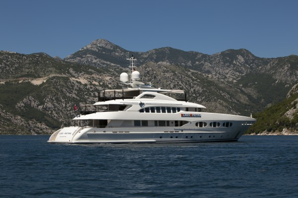 Image for article Two 45m+ builds – Grey Matters & Lady Petra – come onto the market