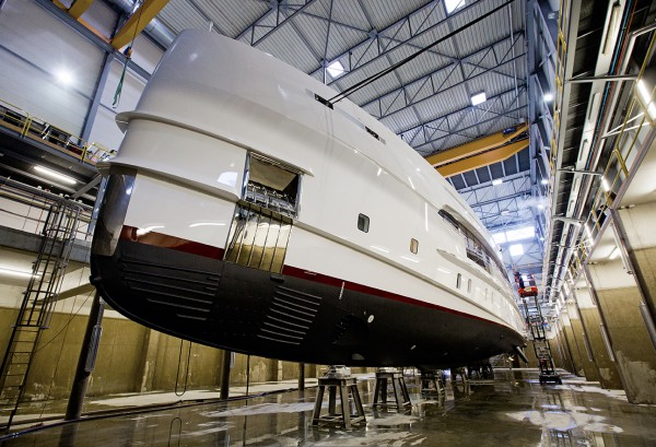 Image for article 50m M/Y Home hits the water