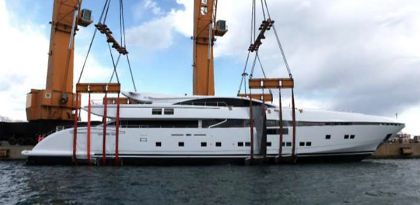 Image for article Cerri Cantieri Navali launches 50m M/Y Elsea
