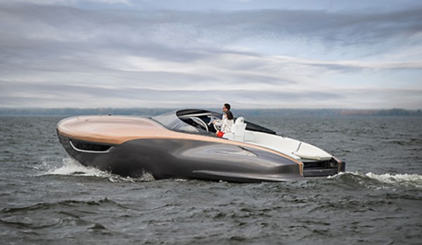 Image for article Lexus luxury: Sport Yacht concept hits the water
