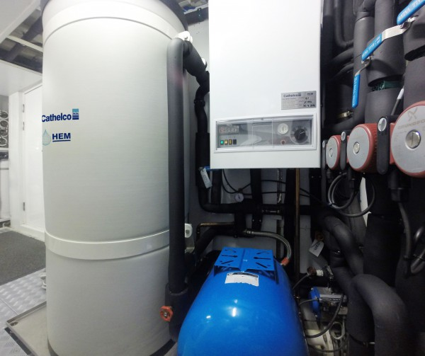Image for article Cool solution for hot water