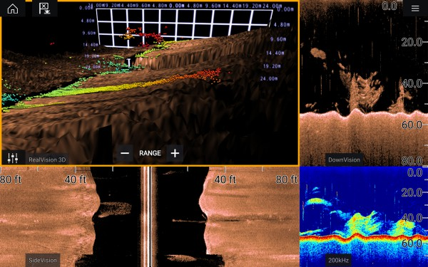 Image for article On board with Raymarine's new Axiom MFD