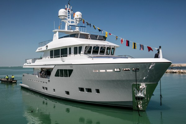 Image for article CdM christens its third Darwin class explorer