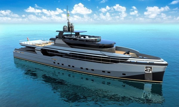 Image for article Eurocraft and Federico Fiorentino unveil 46m expedition yacht