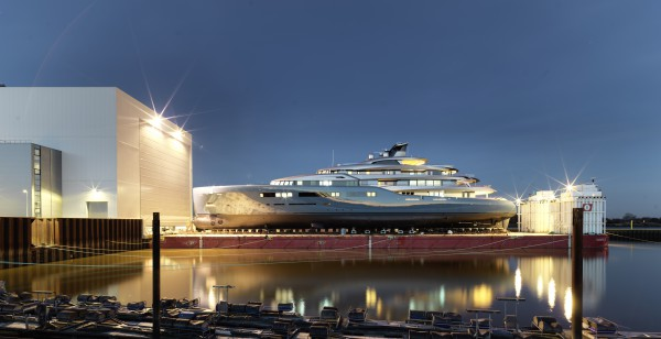 Image for article Abeking and Rasmussen launches 98m Aviva