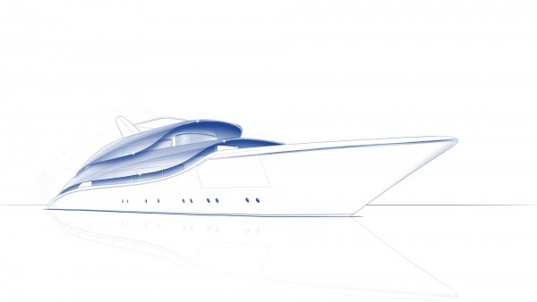 Image for article Materialising superyacht concepts