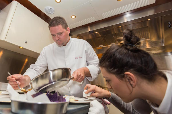 Image for article MYBA Superyacht Chefs' Competition