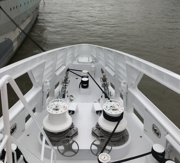 Image for article On board Damen's 'Game Changer'