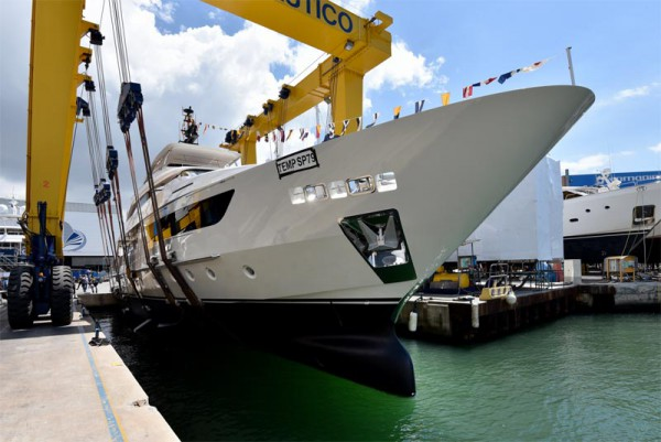 Image for article Sanlorenzo launches 38m M/Y Sim Sim