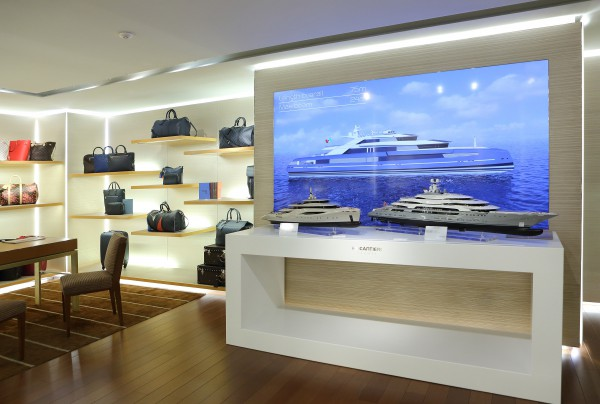Image for article Yachts versus fashion