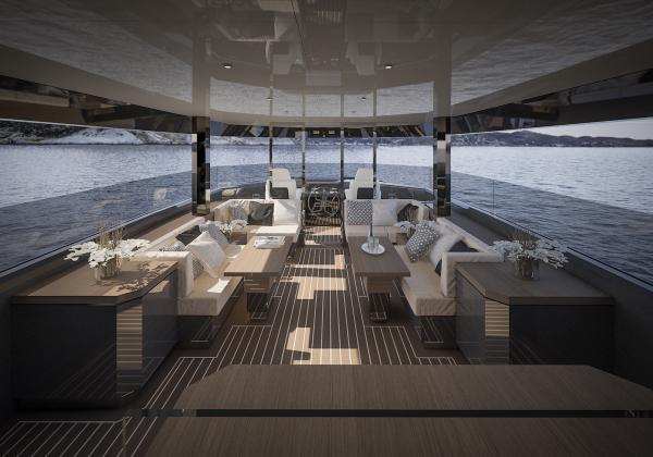 Image for article Arcadia Yachts reinterprets superyacht line